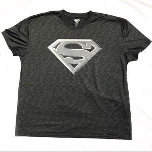 Men's Superman grey lightweight t-shirt, 2XL